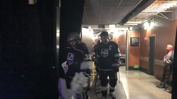 J Quick and Kopi coming down the tunnel